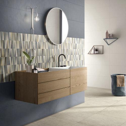 piastrella da interno / da parete / in ceramica / aspetto cemento
