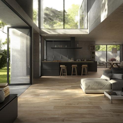 piastrella aspetto parquet / da interno / da esterno / per pavimento