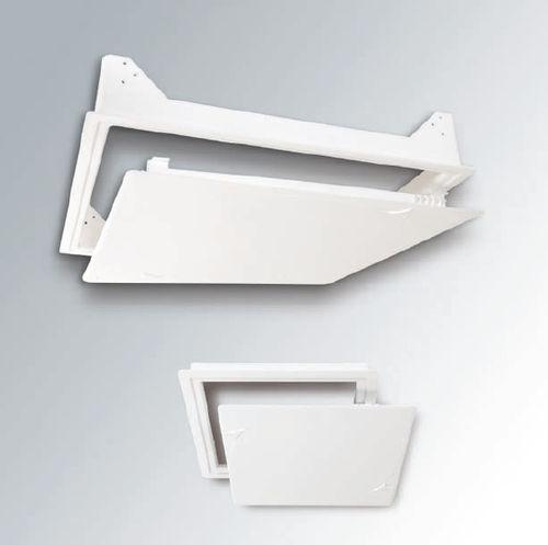 sportello d'ispezione per parete / per soffitto sospeso / quadrato / in metallo