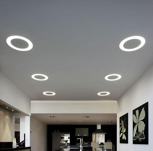 luce da incasso a soffitto / LED / a lampada fluorescente / tonda