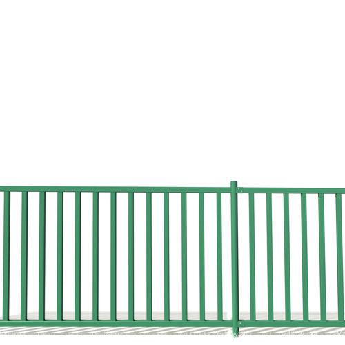 recinzione da giardino / a sbarre / in metallo