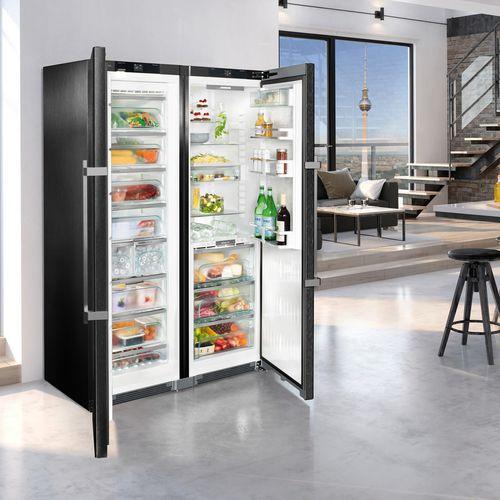 frigorifero a 2 porte / grigio / ecologico