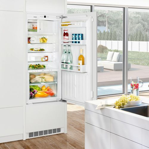 frigorifero ad armadio / bianco / da incasso