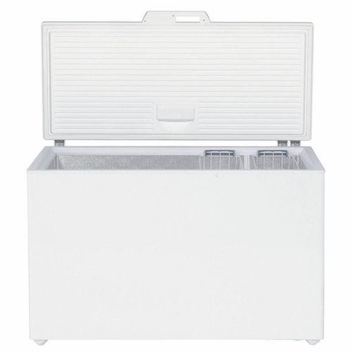 congelatore a pozzetto / bianco / con ecolabel europeo / a risparmio energetico