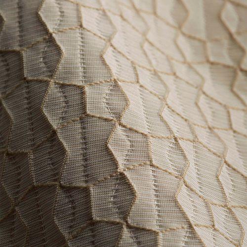 tessuto per tende / motivo geometrico / in poliestere / contract