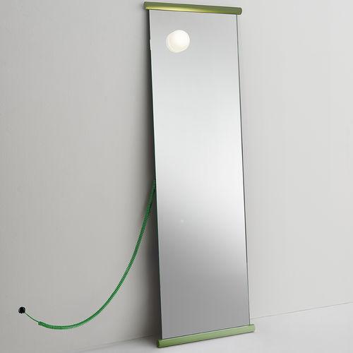 specchio da terra / luminoso / moderno / rettangolare