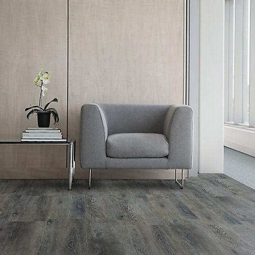 pavimento in vinile / professionale / a doghe / liscio