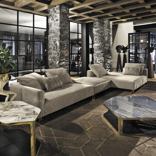 divano modulare / d'angolo / moderno / indoor