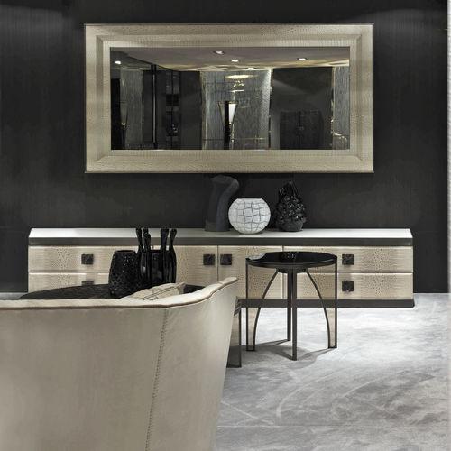 Specchio a muro / moderno / rettangolare / in metallo ADONE Y 335 by Giuseppe Viganò LONGHI S.p.a.