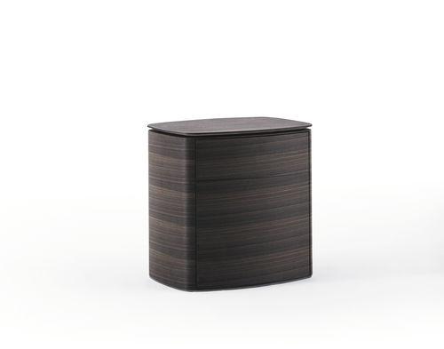 comodino moderno / in legno / in marmo / rettangolare