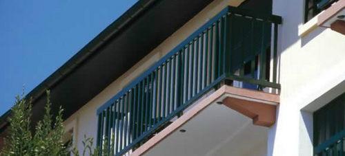 ringhiera in alluminio / a sbarre / da esterno / per scala