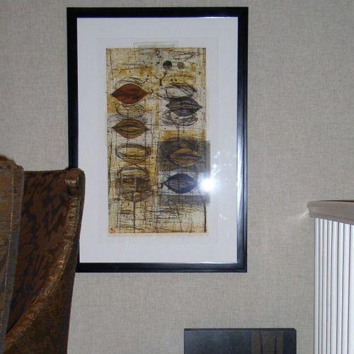 carta da parati moderna / in tessuto / con motivi naturali