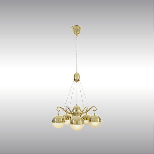Lampadario moderno / in ottone / su misura / di Josef Hoffmann 21604 by Wiener Werkstaette Woka Lamps Vienna