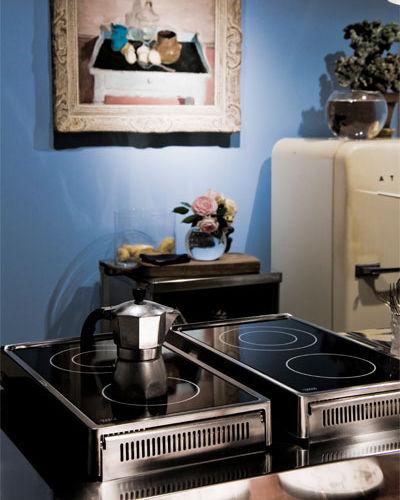 Piano cottura elettrico / a induzione / in acciaio inox - 100 FLIP ...