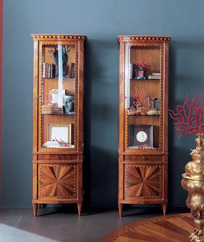 vetrina in stile / in legno