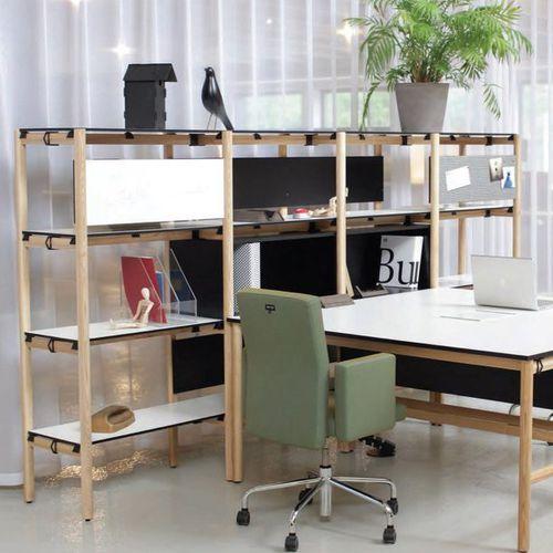 scaffale moderno / in legno / per ufficio