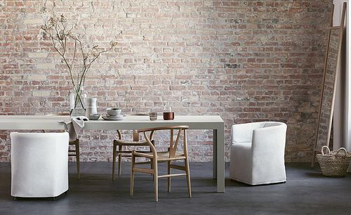 tavolo moderno / in legno / rettangolare / bianco