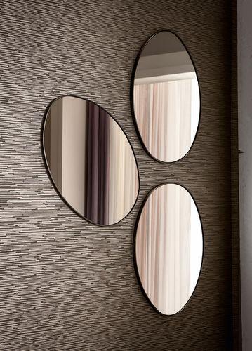 Specchio a muro / classico / ovale STONE CANTORI