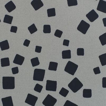 tessuto da tappezzeria / motivo geometrico / sintetico / occultante