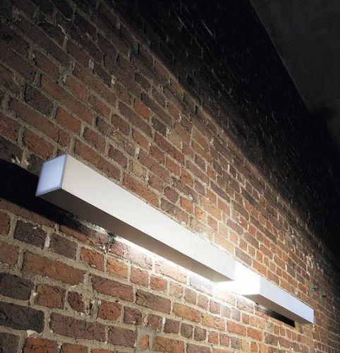 applique moderna / in alluminio / in policarbonato / a lampada fluorescente