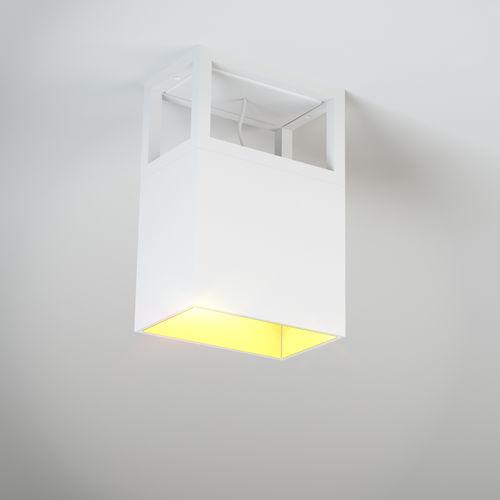 plafoniera moderna / rettangolare / in alluminio / LED