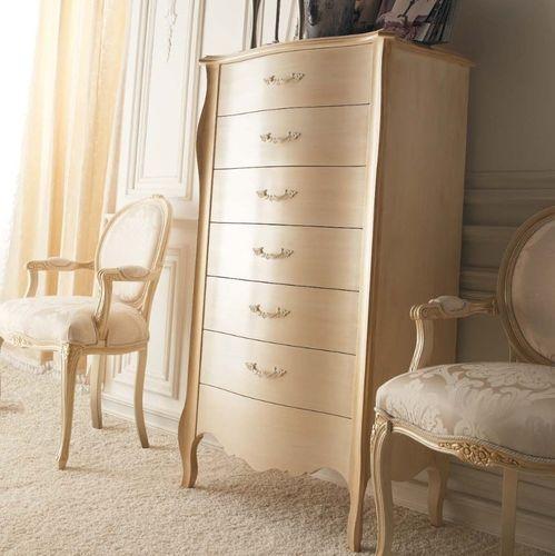 Cassettiera in stile / in legno laccato / beige - LIBERTY - GIUSTI ...