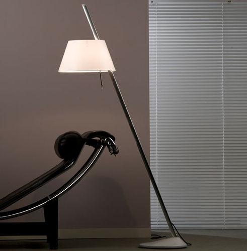 lampada da terra / design originale / in alluminio / ad altezza regolabile