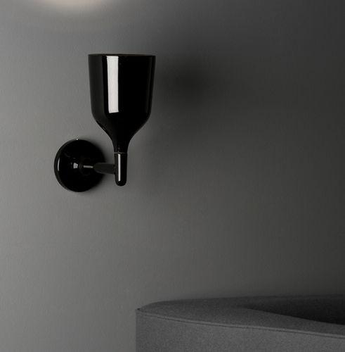 applique moderna / in acciaio / in ceramica / bianca