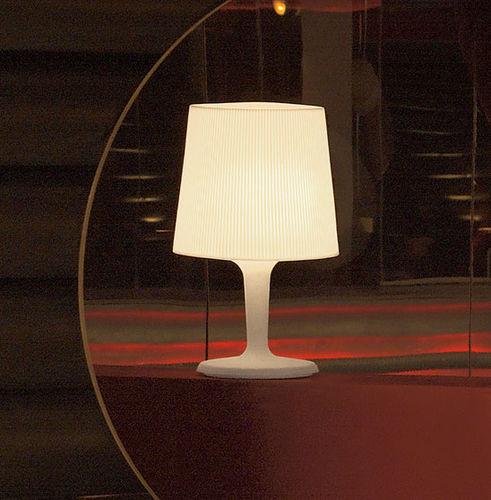 lampada da tavolo / moderna / in polietilene / da interno