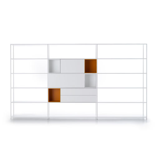 mensola / modulare / basso / ad angolo
