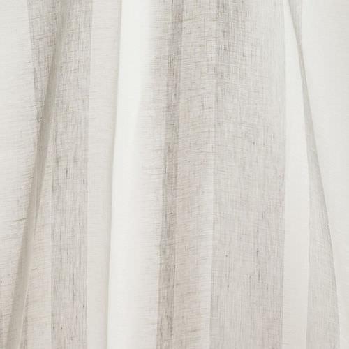 tendina voile a righe / in lino / per uso residenziale