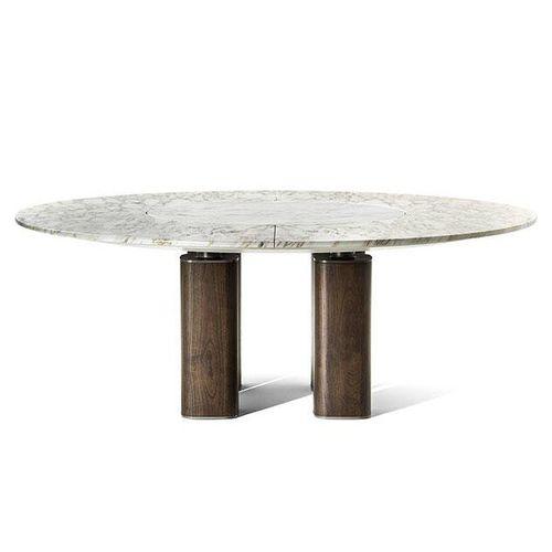 tavolo moderno / in legno / in acciaio / in marmo