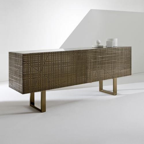 credenza moderna / in legno / in metallo / in marmo