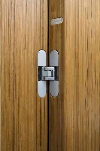 Porta da interni / battente / in legno / per hotel ONDA : RL 07 by Paolo Rizzatto LAURAMERONI