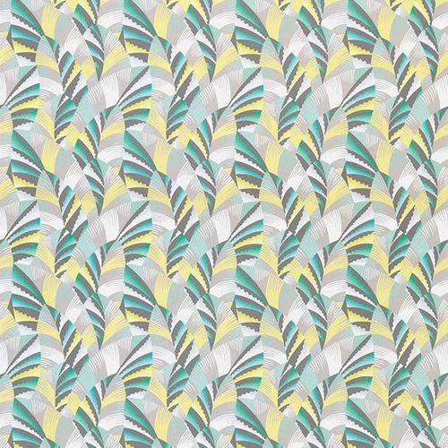tessuto da tappezzeria / per tende / a motivi / in cotone