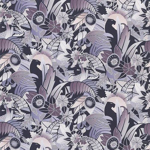 tessuto per tende / a fiori / in cotone