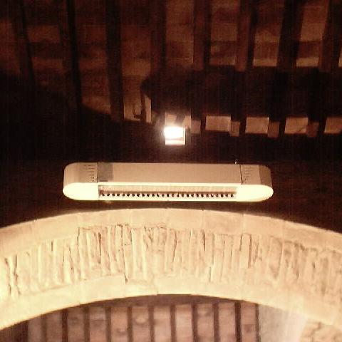 stufa ad infrarossi da parete / da soffitto / elettrica / a gas