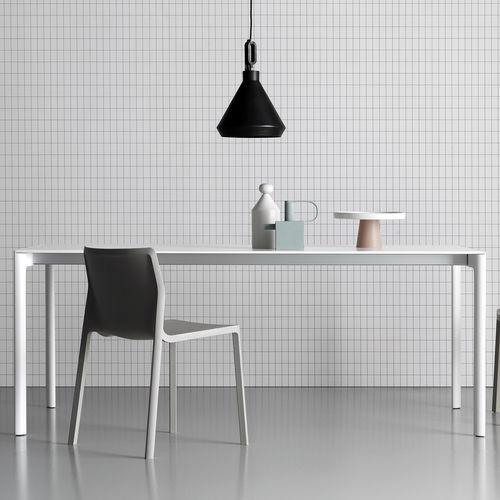 Tavolo moderno / in legno / rettangolare / allungabile MAKI by Bartoli design Kristalia