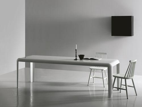 Tavolo moderno / in lastra / rettangolare / quadrato FERRO  Porro