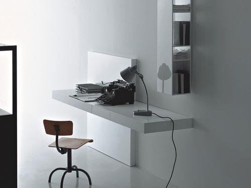 scrittoio moderno / in legno / in legno laccato / a muro