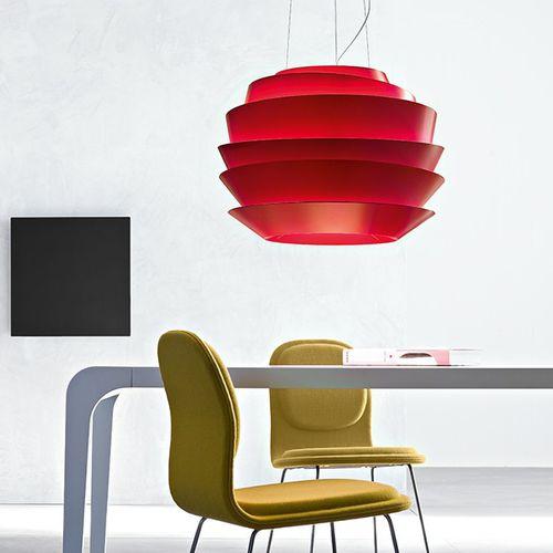 lampada a sospensione / moderna / in metallo / in policarbonato