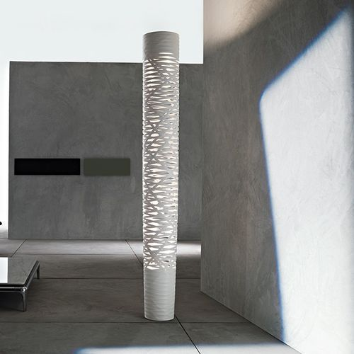 colonna luminosa design originale / in metallo / in materiale composito / LED