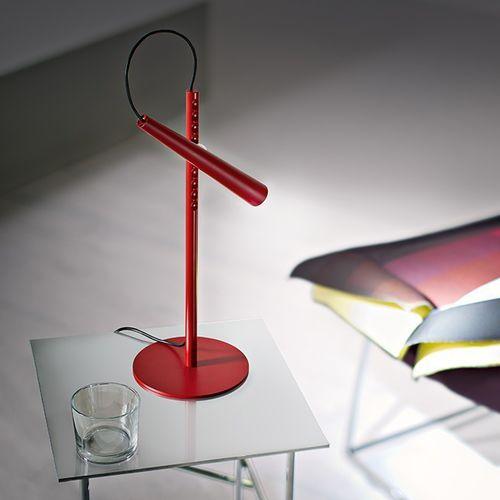 lampada da tavolo / moderna / in acciaio / in ABS