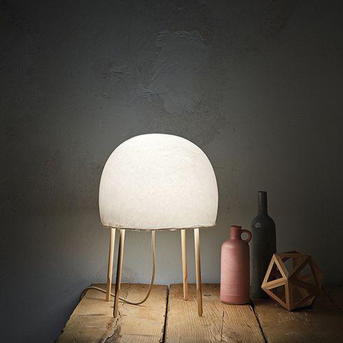 Lampada da tavolo / moderna / in carta giapponese / da interno KURAGE FOSCARINI