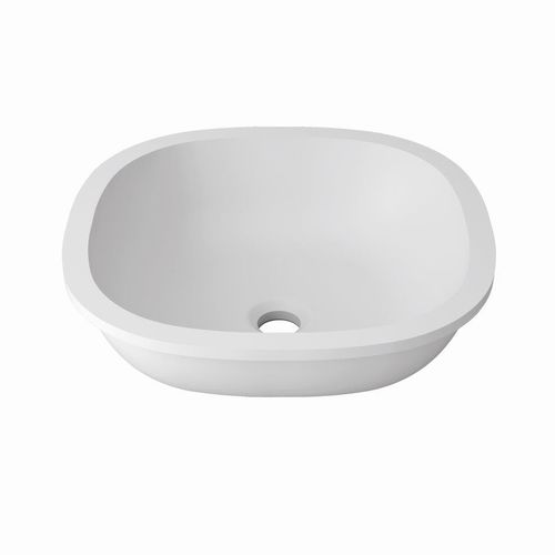 Lavabo sottopiano / in Krion® / moderno / professionale B604 38X38 E SYSTEMPOOL -  KRION® Porcelanosa Solid Surface