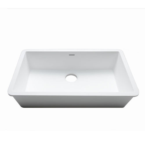 Lavello a 1 vasca / in Krion® / professionale C824 70X40 E SYSTEMPOOL -  KRION® Porcelanosa Solid Surface