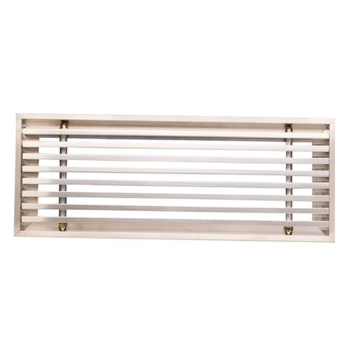 griglia di ventilazione in alluminio / lineare