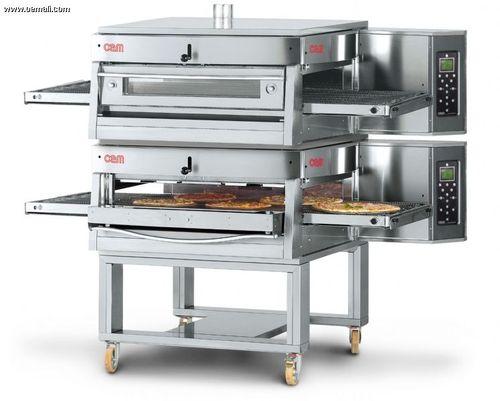 Forno a gas / professionale / doppio / a convezione HV/75-G/2 OEM - Pizza System