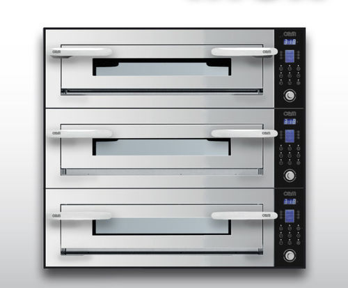 Forno elettrico / professionale / a pizza / a 3 camere OPTYMO CONCEPT: 435/3 INOX OEM - Pizza System