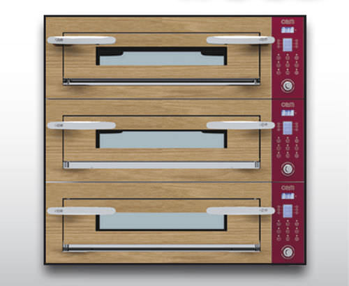 Forno elettrico / professionale / a pizza / a 3 camere OPTYMO CONCEPT: 435/3 WOOD OEM - Pizza System